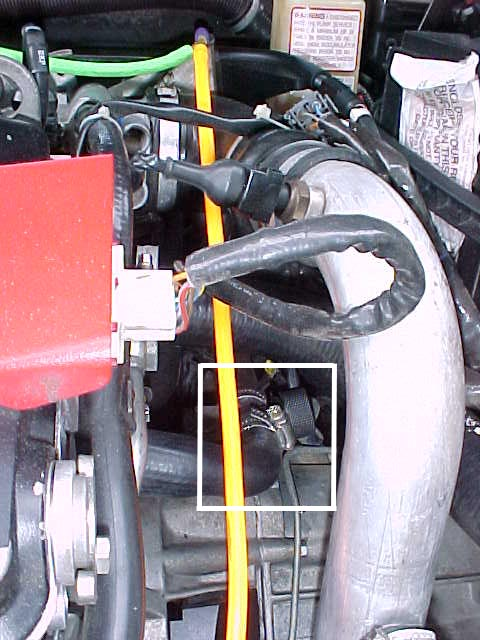Installing A Backflush Tee For The Cooling System